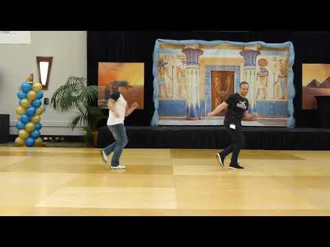In The Six Line Dance By Shane McKeever & Joey Warren Demo @ 2019 Marathon