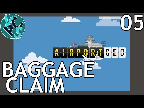 Airport CEO EP05: Baggage Claim - Airport Management Tycoon Gameplay