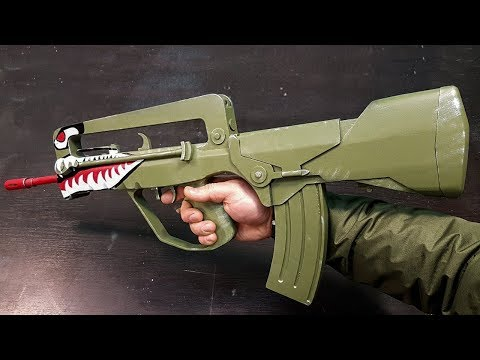 How to make FAMAS SPITFIRE from CS:GO DIY