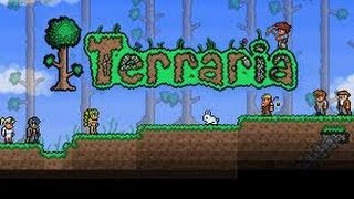 Terraria #1 fautixd + como hacer la espada de la noche