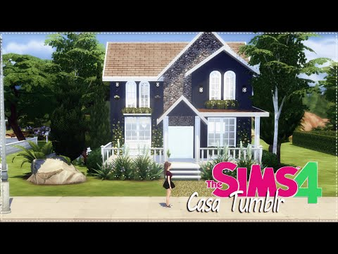 The Sims 4 - Casa Tumblr - YouTube