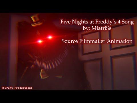 [SFM/FNAF4] Five Nights at Freddy's 4 Song - MiatriSs [Halloween Special]