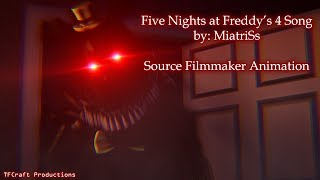 [SFM/FNAF4] Five Nights at Freddys 4 Song - MiatriSs [Halloween Special]