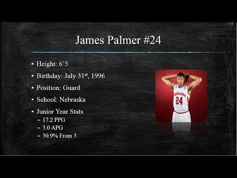 James Palmer vs Maryland Draft Video!