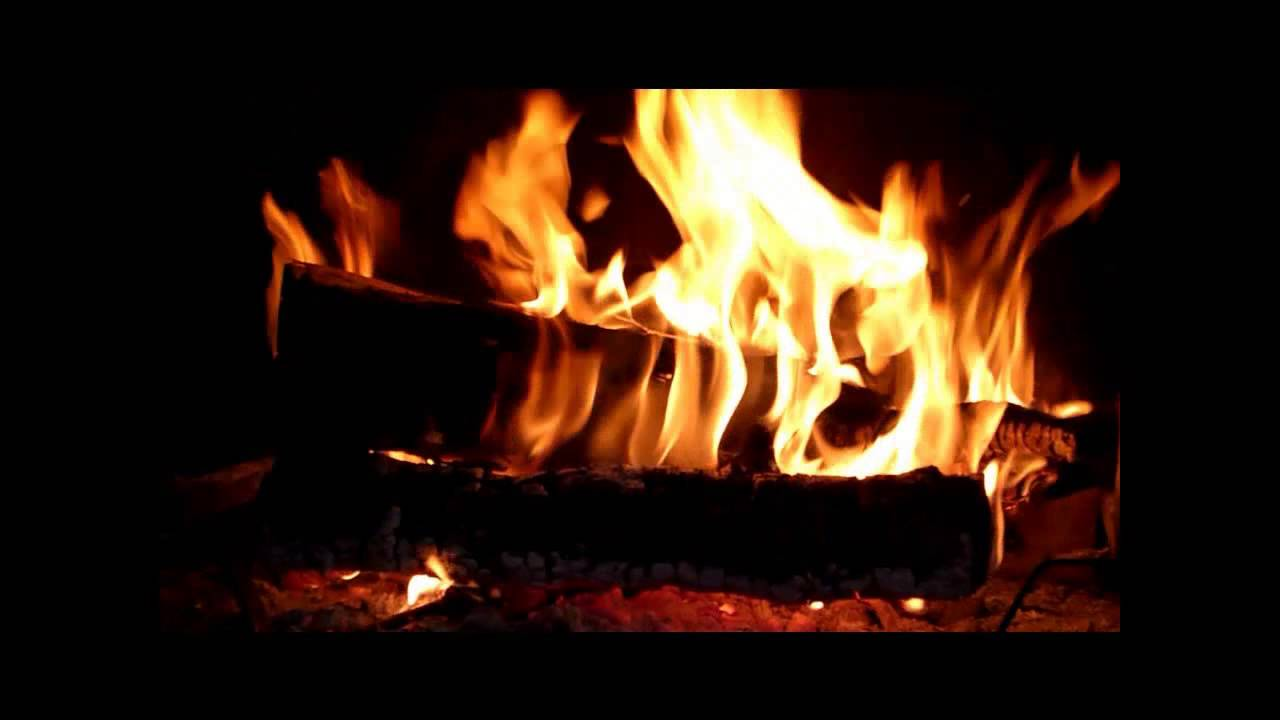 Asmr feu cheminee crepitements fire chimney flamme flame chama youtube - Image feu de cheminee ...