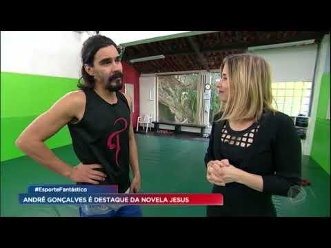 André Gonçalves mostra preparação para viver Barrabás em Jesus
