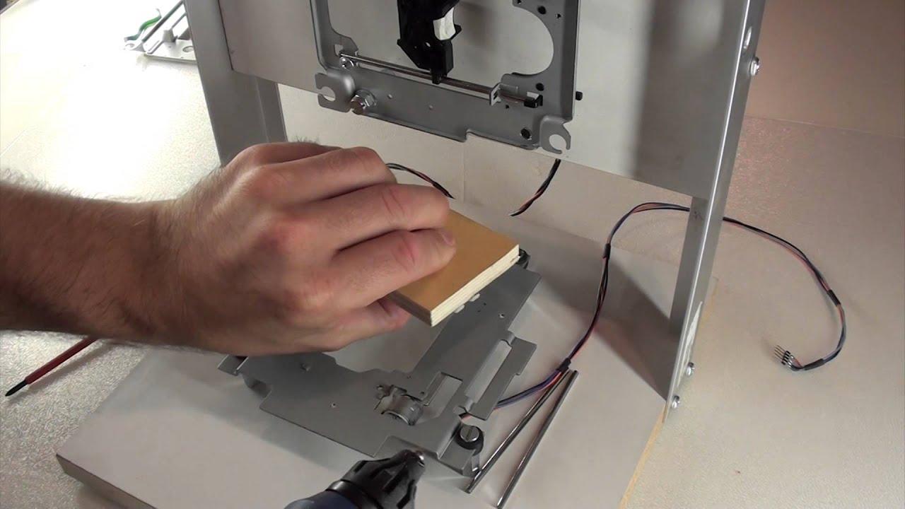 diy laserplotter teil 1 hardware let 39 s build youtube. Black Bedroom Furniture Sets. Home Design Ideas