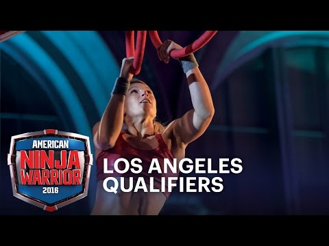 Jessie Graff at the 2016 Los Angeles Qualifiers | American Ninja Warrior