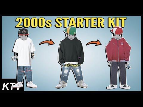 2000s Streetwear Fashion Starter Kit (Girbuad, Ed Hardy, LRG, AF1s)