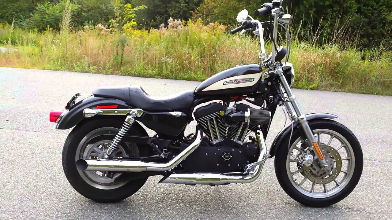 Harley Davidson Sportster 1200 Roadster Edition Dual Disc With Ape