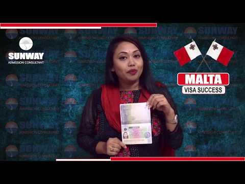 Malta Student Visa (Success Story) - October 2017 INTAKE