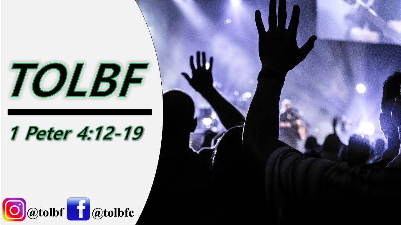 Share The Sufferings Of Christ | TOLBF Service