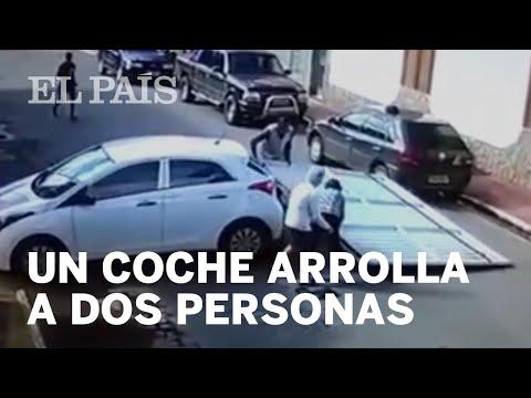 Un coche sin conductor atropella a dos jubilados en Río de Janeiro