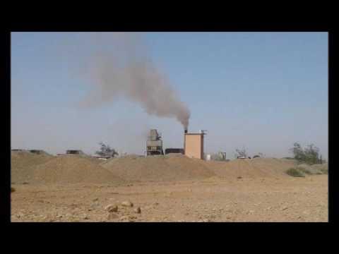 شريط يظهر التهديد البيئي لشركات مقالع الحجارة بمنطقة تامليحت بطانطان