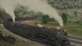 railfanning the world famous Horseshoe curve steam (ts19)
