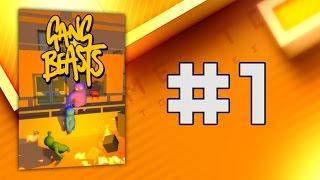 Das witzigste Spiel... aller Zeiten? - Gang Beasts #1 - Time to Drei