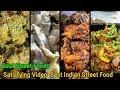 Best Street Foods in Delhi Noida || Satisfying Video  Best Indian Street Food