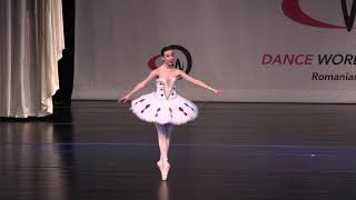 La Sylphide Ballet School  - Tabitha Budeanu - gold medal DWC 2018
