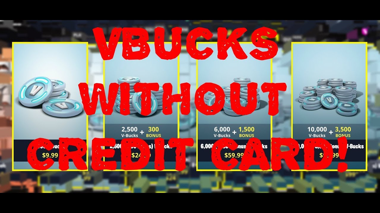 FORTNITE HOW TO BUY VBUCKS WITHOUT A CREDIT CARD!