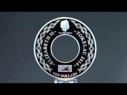 Carousel Horses 2oz Silver Coin from Tokelau