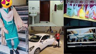 Pakistan Ja rahe hon Kab 🤔Monthly Saudi home Grocery Haul |fairy life in saudi arabia |
