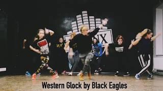 Dancehall steps badman practice with Tanusha