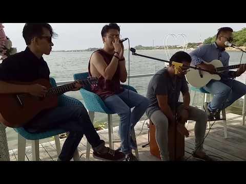 ILHAM SMASH - SELALU TENTANG KAMU (akustik) LIVE OCEANVIEW JEPARA
