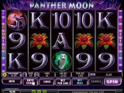 Игровой автомат Panther Moon от Playtech