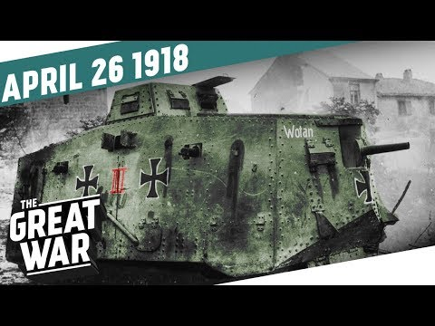 The First Tank-on-Tank Battle In History - The Zeebrugge Raid I THE GREAT WAR Week 196