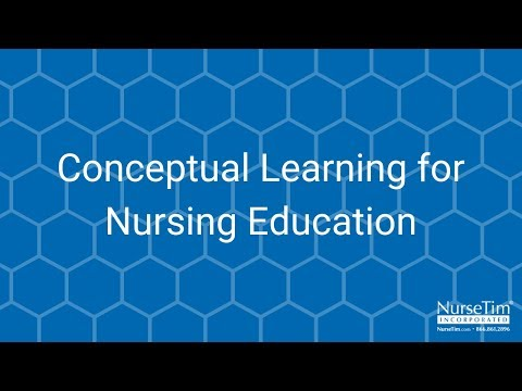 Conceptual Learning for Nursing Education