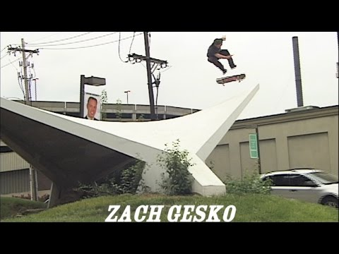 Zach Gesko in Bruns 2 TW SKATEboarding video