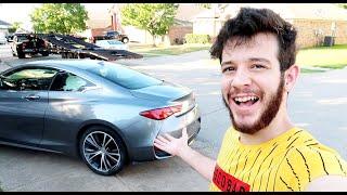 اخيرا وصلت سيارتي الاسطورية الجديدة من المزاد للبيت ديلفري!!