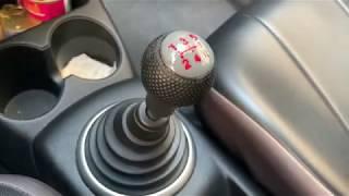 Honda shift knob restoration