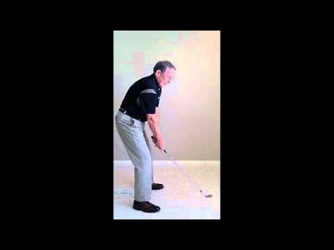 Senior Golf Swing Secret for bad habits in stance and take away