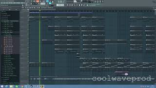 Coolwaveprod In Fl Studio Cloudrap