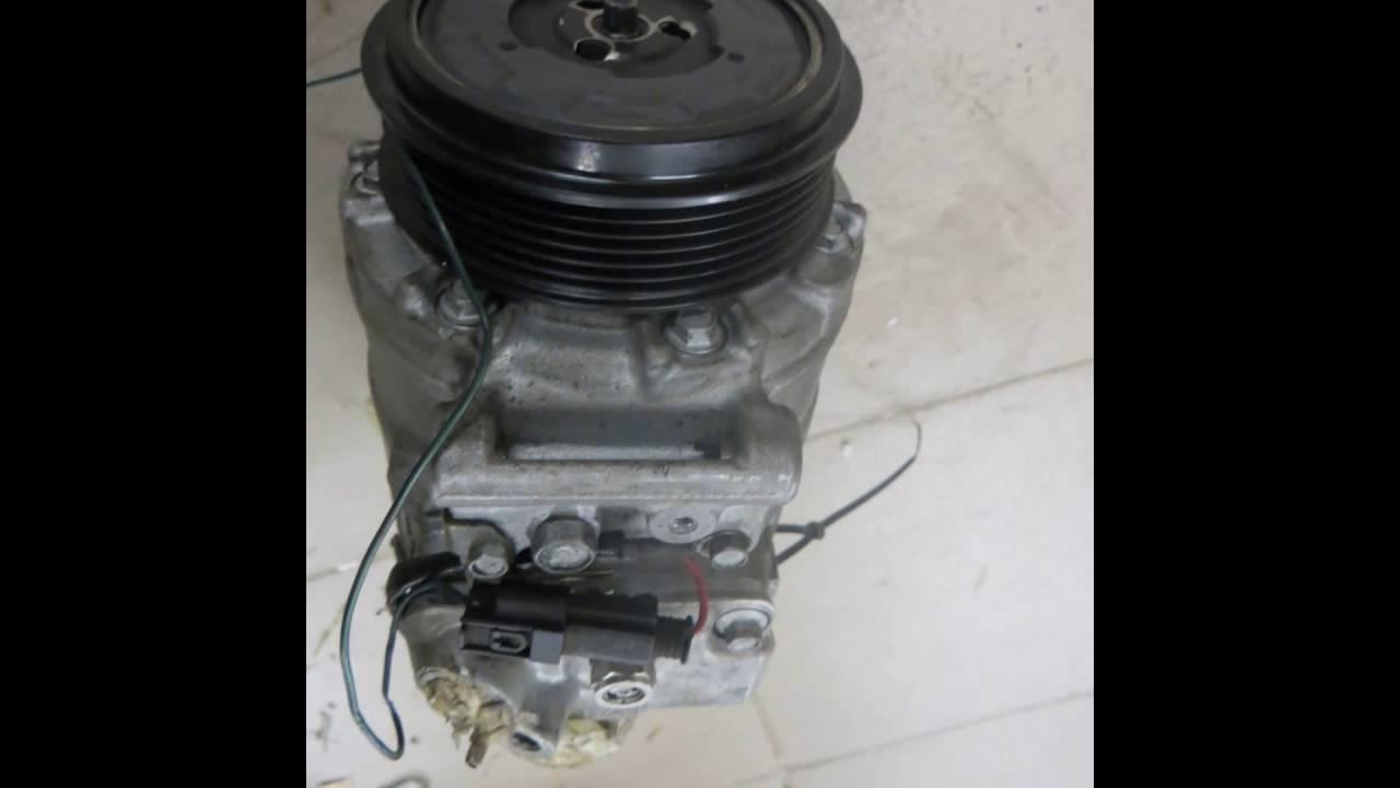замена подшипника компрессора кондиционера мерседес w210