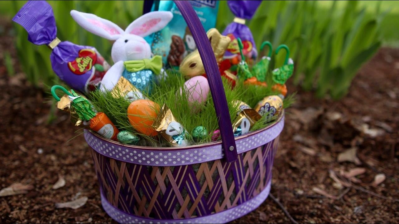 Greet spring with a grass filled easter basket youtube greet spring with a grass filled easter basket m4hsunfo