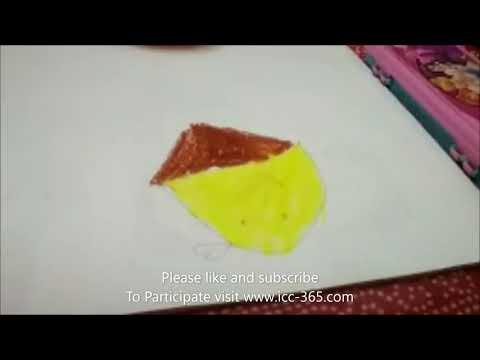 Simple Painting by cute kid