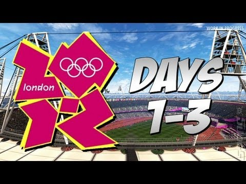 2012 Olympic Games - Long Jump, 200m, Discus, Trampoline, Archery, 400m