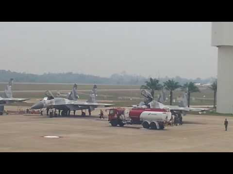 pesawat latih Malaysia dan Singapore berulah F-16 dan Sukhoi shock therapy