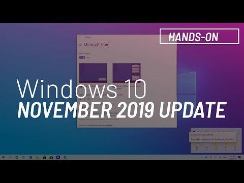 Windows 10 November 2019 Update, Version 1909, New Features