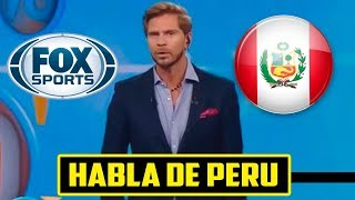 FOX SPORTS FELICITA A LA SELECCIÓN PERUANA