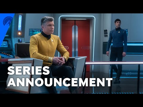 Star Trek: Strange New Worlds Series Announcement   Paramount+