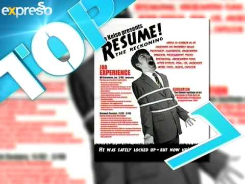 Parmalat Fabulite Top 10:  Most Creative CV's (25.6.2013