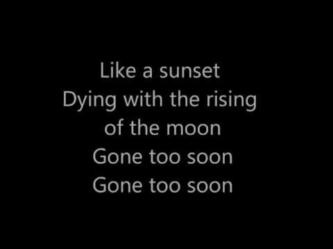 Michael Jackson - Gone too soon (lyrics)