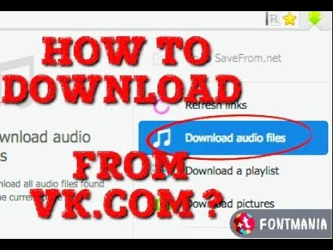 How to DOWNLOAD MUSIC From VK.COM?