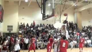 PLAY OF THE DAY Daxter Miles (Dunbar) with the inbounds lob