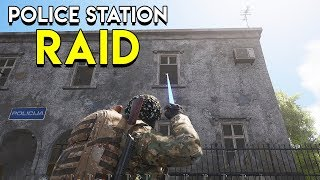 Raiding A Police Station in SCUM