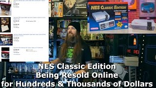NES Classic Edition Being Resold Online for Hundreds & Thousands of Dollars - AlphaOmegaSin