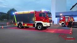 Ankunft des TLF 4000 (Lentner) der Feuerwehr Büdingen